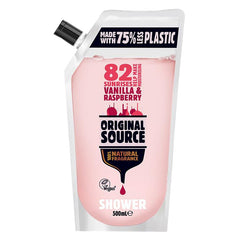 Gambar Original Source Shower Gel Vanilla & Raspberry Refill - 500 mL Jenis Perawatan Tubuh