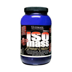 Gambar Ultimate Nutrition ISO Mass Xtreme Gainer - 3,5 LB Strawberry Jenis Suplemen Fitnes