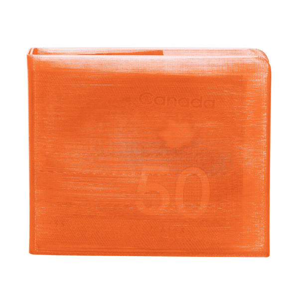 Transparent Orange 3D Printed Wallet-Wallet-KEN3D