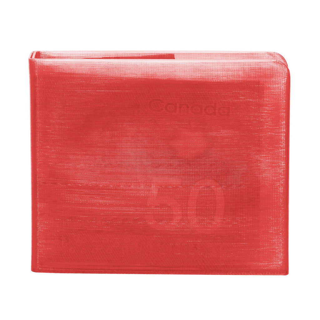 Transparent Red 3D Printed Wallet-Wallet-KEN3D