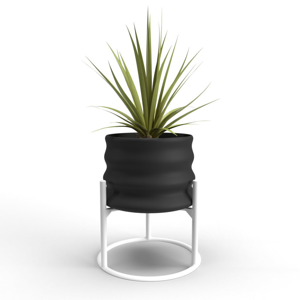 "Aladin Small 3"" Planter + Support"