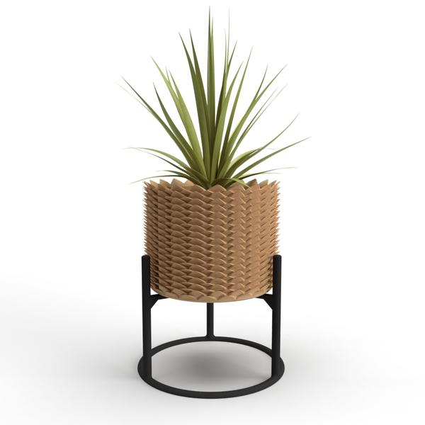 "Pineapple Large 7"" Planter + Support"