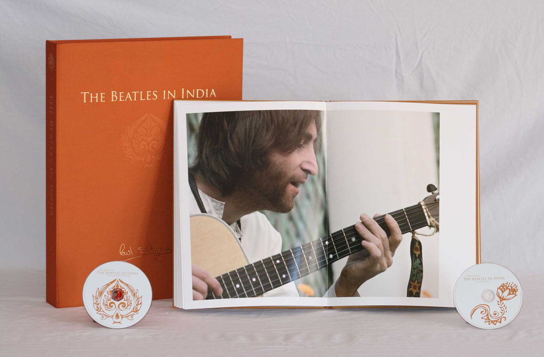 The Beatles in India: Special Limited Edition Book