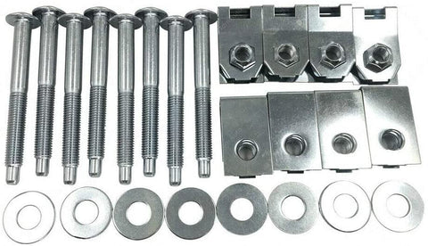 Ford Truck Bed Mounting Bolt Nut Hardware Kit for 1999-2013 Ford F250 F350 F450 F550 Super Duty Replaces Dorman 924-311