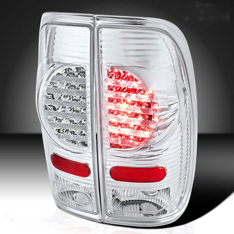 Styleside Brake LED Tail Lights for Ford 1997-2003 F150 1999-2007 F250 SuperDuty
