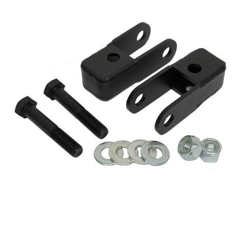 Front shock extenders for Leveling lift kit fits 99-06 Silverado sierra 1500 GMC