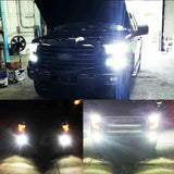 6000K LED Headlight Kit Hi/Lo + Fog Lights 9005 H11+9145K for Ford F-150 2015-2019