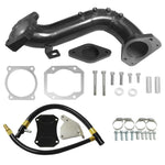 6.6L LML Duramax Intake Tube Bridge & EGR Valve Cooler Delete Kit for 11-15 GM