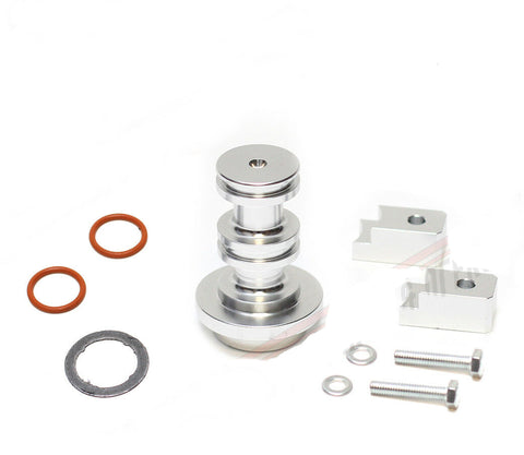 6.0 EGR Eliminator Spool Powerstroke Diesel with Bolts & Orings for 03-10 Ford F250 F350 6.0L
