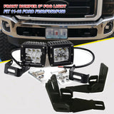 Super Duty Front Hidden Bumper LED Light Bar Upgrade Kit fit Ford F250/F350/F450