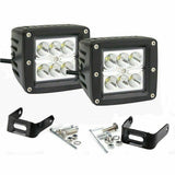 "32"" LED Bar Dual Fog Light Pod Mount Upgrade Kits Fit Dodge Ram 2500/3500 Bumper"