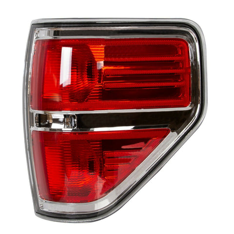 Chrome Trim Tail Lights Brake Lamp Right 10 11 12 13 for 09-2014 Ford F150 F150