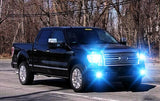 8000K LED Headlight High/Low + Fog Light Bulbs Combo for Ford F150 2005 - 2014 4pcs
