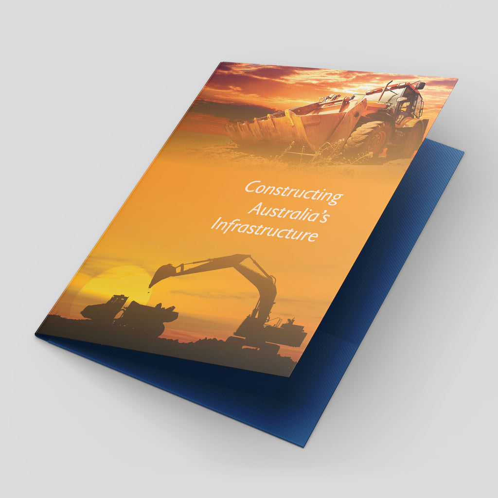 A5 Presentation Folders (Full-Colour Offset Print)