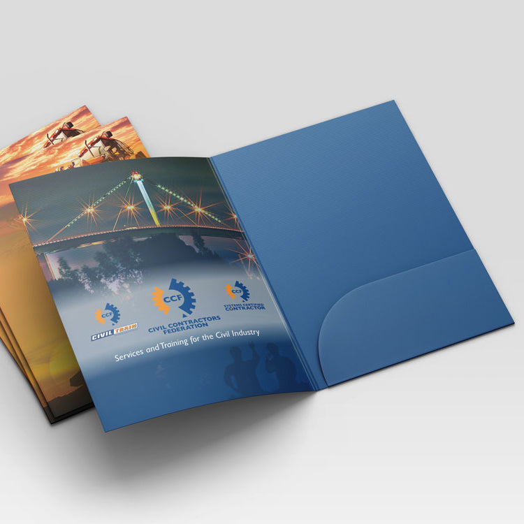 A4 Presentation Folders (Full-Colour Offset Print)