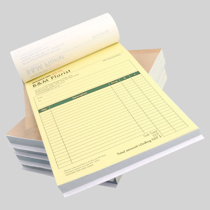 A4 NCR Book/Pad (Full Colour)