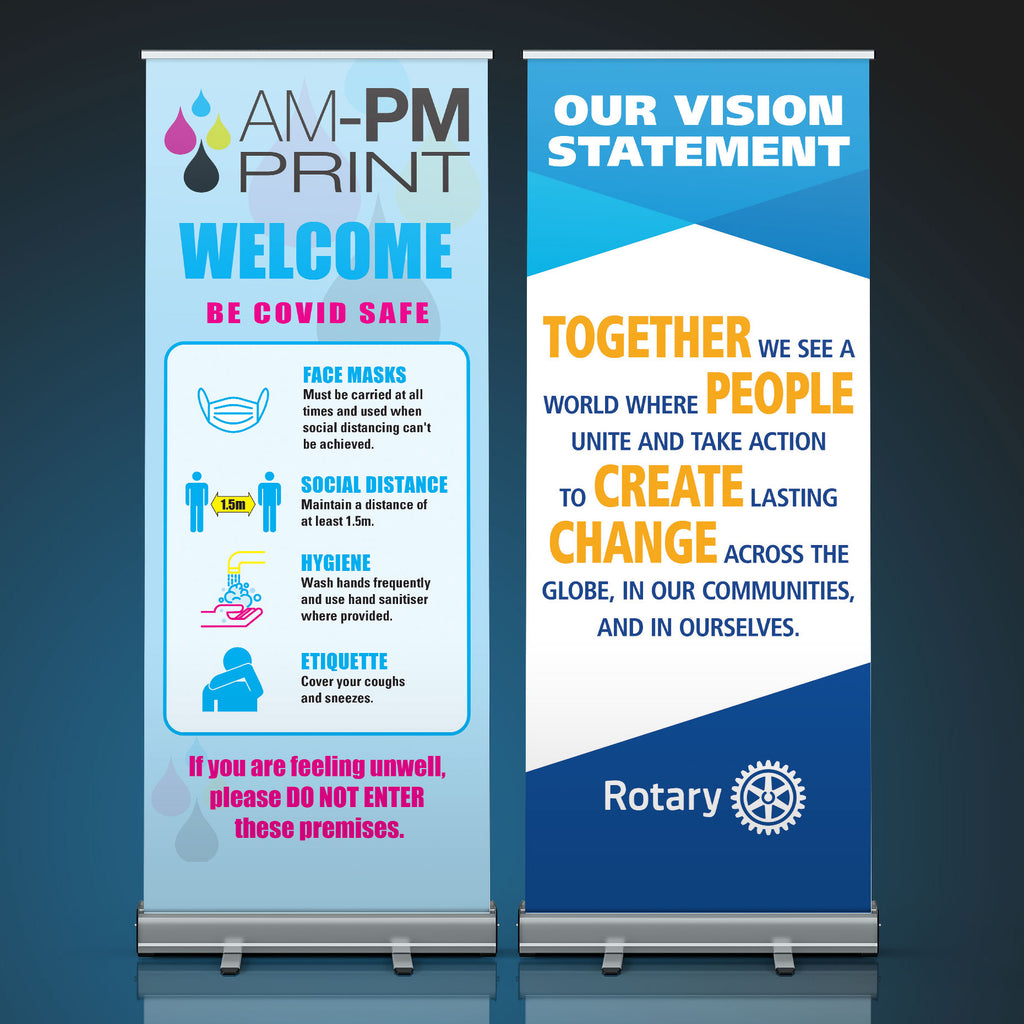 Pull-Up Banner - 850 x 2000mm