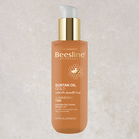 Beesline Sun Tan Oil Gold