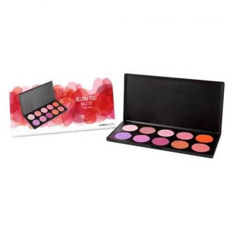Coastal Scents- 10 Color Blush Too Palette