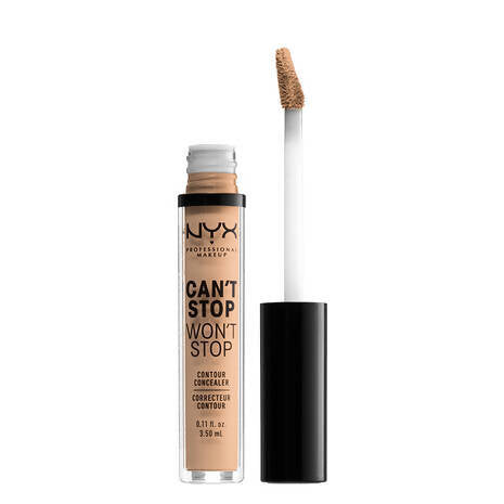 Nyx Can't Stop Won't Stop Contour Concealer- Natural