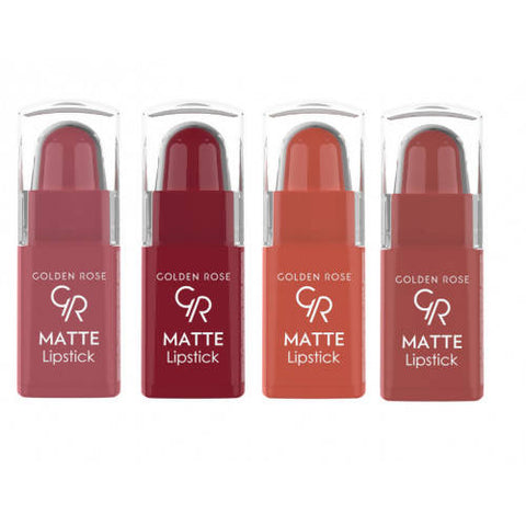 Golden Rose Matte Lipstick Mix 03