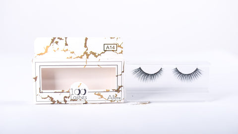100 Lashes Allure Style A14