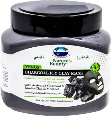 Nature's Bounty Charcoal Clay Mask 600gm