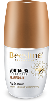 Beesline Whitening Roll On Deodorant - Arabian Oud 50ml - The Makeup Shop