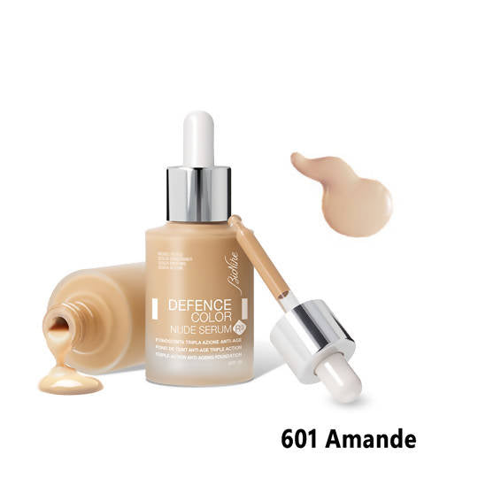 Defence Color Nude Serum R3 Foundation - 601 Amande