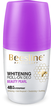 Beesline Whitening Roll On Deodorant - Beauty Pearl 50ml - The Makeup Shop