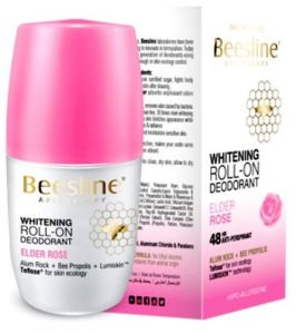 Beesline Whitening Roll On Deodorant - Elder Rose