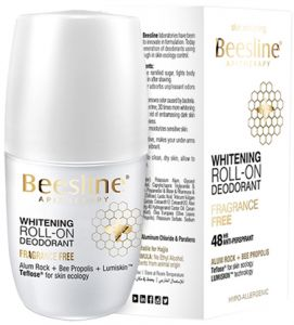 Beesline Whitening Roll On Deodorant - Fragrance Free