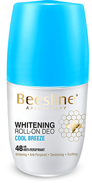 Beesline Whitening Roll On Deodorant - Cool Breeze 50ml - The Makeup Shop