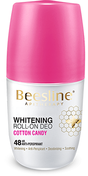 Beesline Whitening Roll On Deodorant - Cotton Candy 50ml - The Makeup Shop