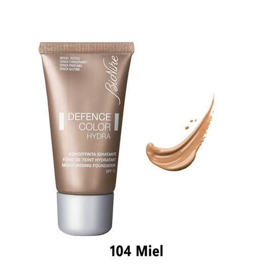 Defence Color Hydra Moisturizing Foundation - 104 Miel Bionike