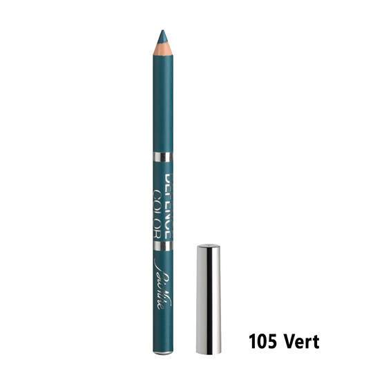 Defence Color Kohl & Kajal Eye Pencil - Vert 105 Bionike