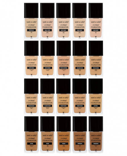Wet N Wild Photo Focus Foundation Matte- Soft Ivory