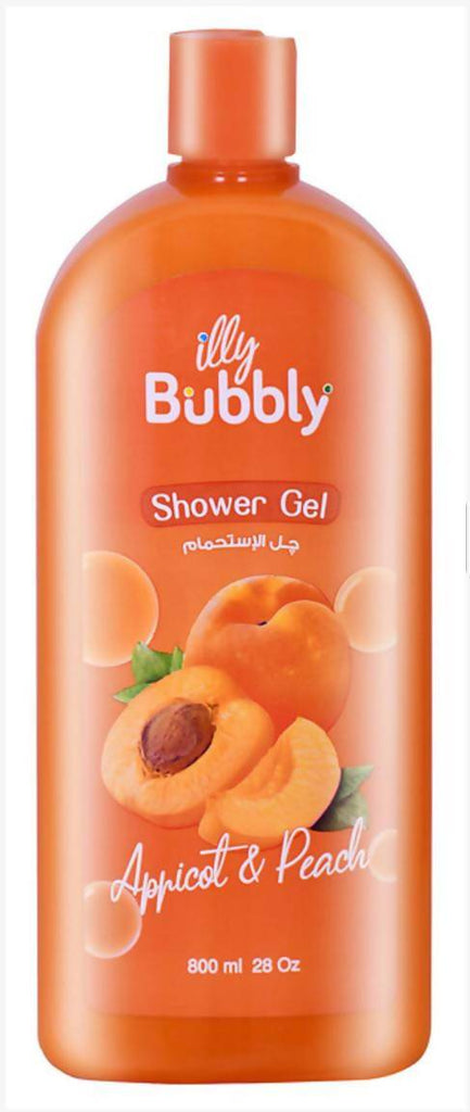 Illy Bubbly Apricot & Peach Shower Gel  800 ml Phoenix Pharmaceutical Co