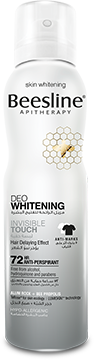 Beesline Deo Whitening - Invisible Touch 150ml - The Makeup Shop