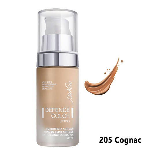 Defence Color Lifting Anti-Ageing Foundation - 205 Cognac