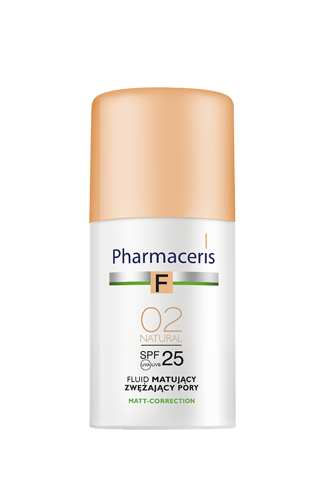 Pharmaceris F -FOUNDATION Pore Refining SPF 25 ( 02 NATURAL)