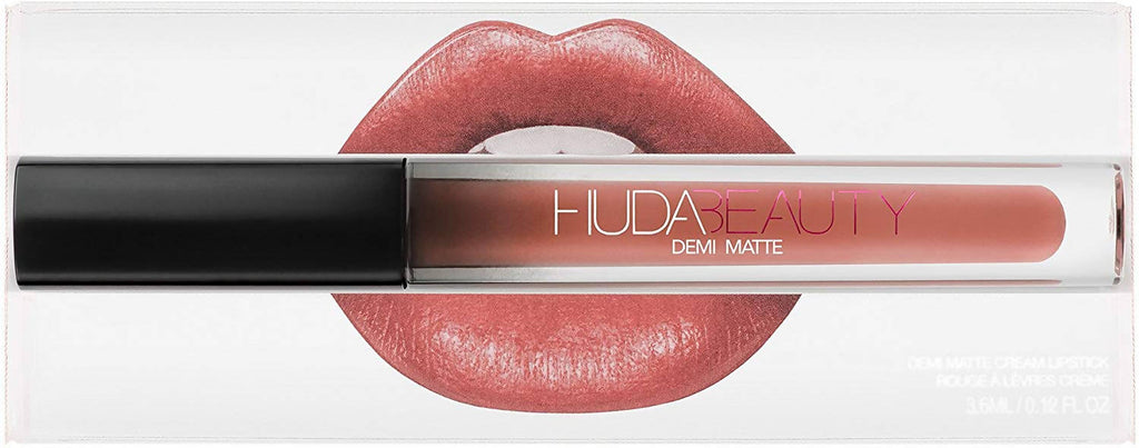 Huda Beauty Demi Matte Lipstick - The Makeup Shop