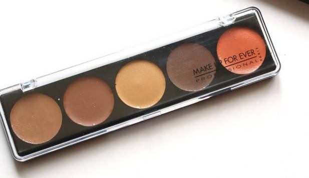 Make Up For Ever 5 Camouflage Cream Palette - No 4 (Unboxed)