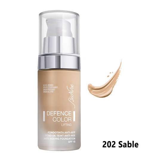 Defence Color Lifting Anti-Ageing Foundation - 202 Sable