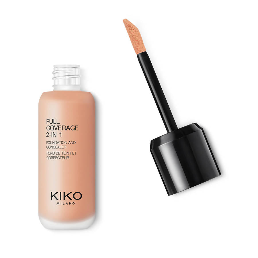 Kiko Milano Full Coverage 2-In-1 Foundation & Concealer - Warm Rose 30