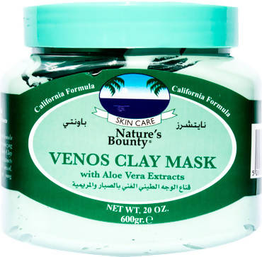 Nature's Bounty clay mask with Aloe Vera Mask 600gm