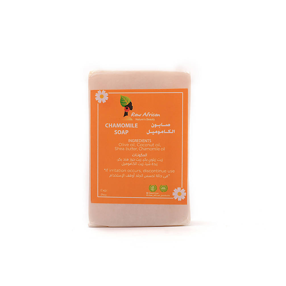 Raw African Chamomile collagen Soap 75gr