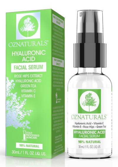 OZnaturals Hyaluronic Acid Facial Serum