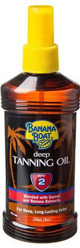 Banana Boat Tanning Oil SPF 2 - 236ml