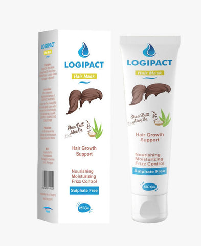 Logipact Hair Mask For Damaged Hair Repair & Conditioning